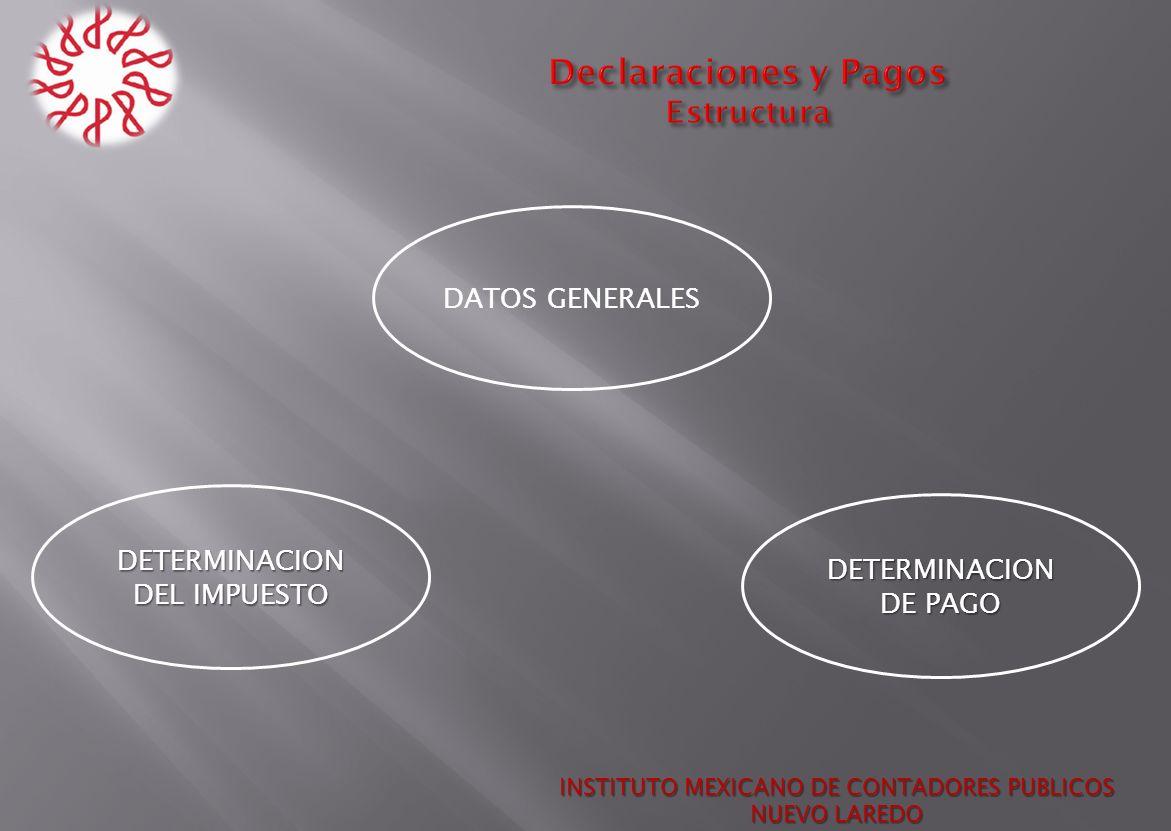 Declaraciones y Pagos Estructura