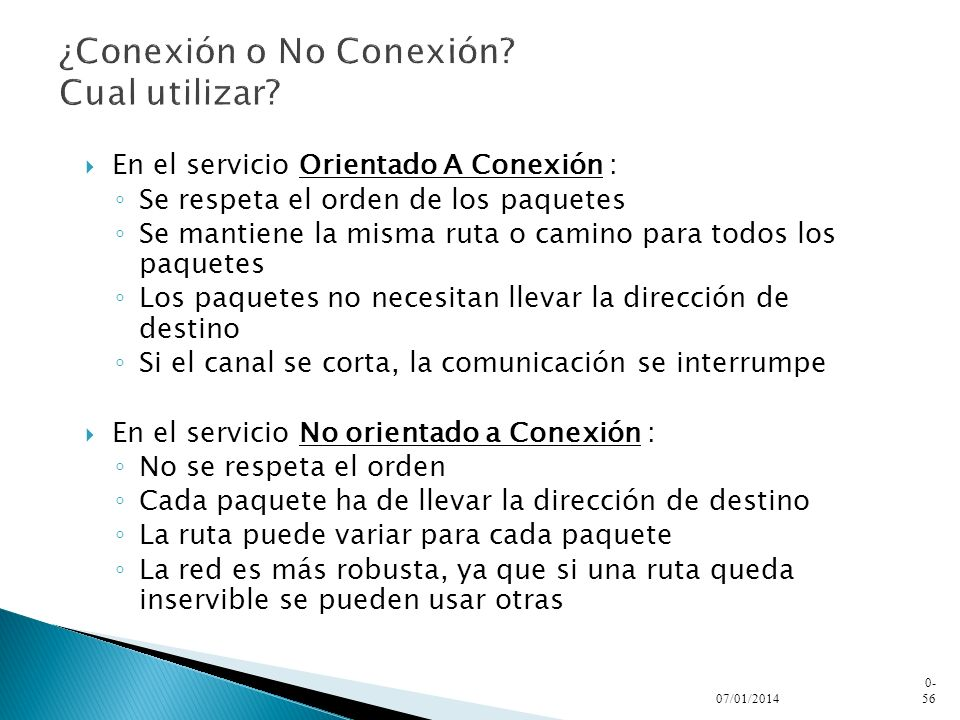¿Conexión o No Conexión Cual utilizar