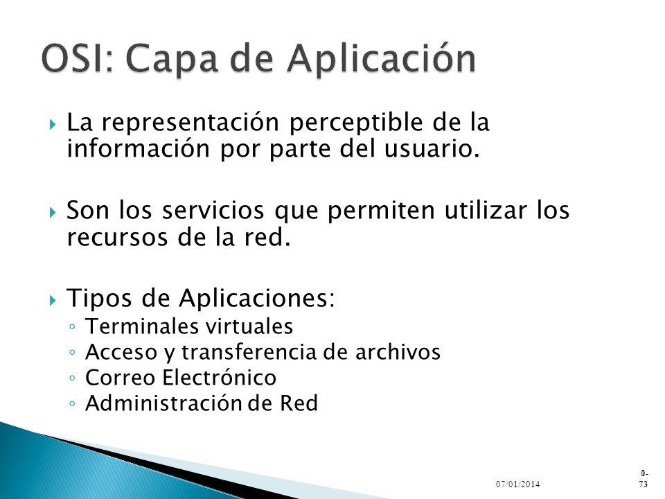 OSI: Capa de Aplicación