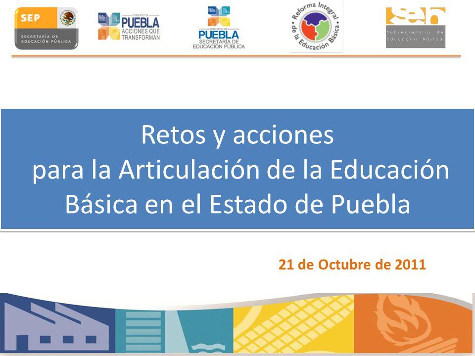 Retos y acciones para la Articulación de la Educación Básica en el Estado de Puebla