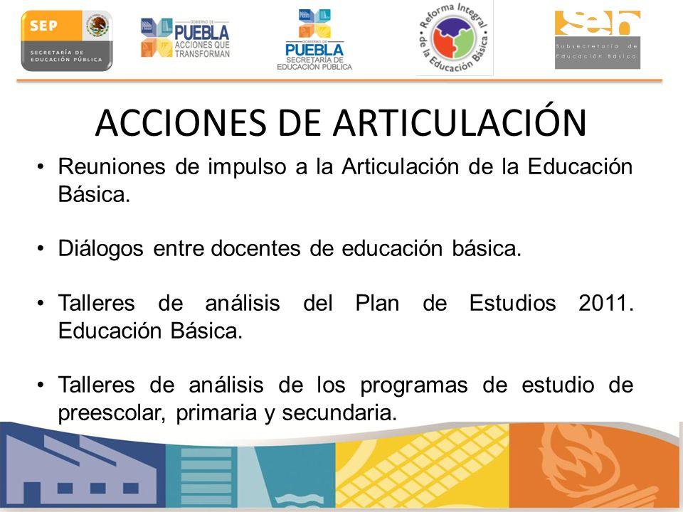 ACCIONES DE ARTICULACIÓN