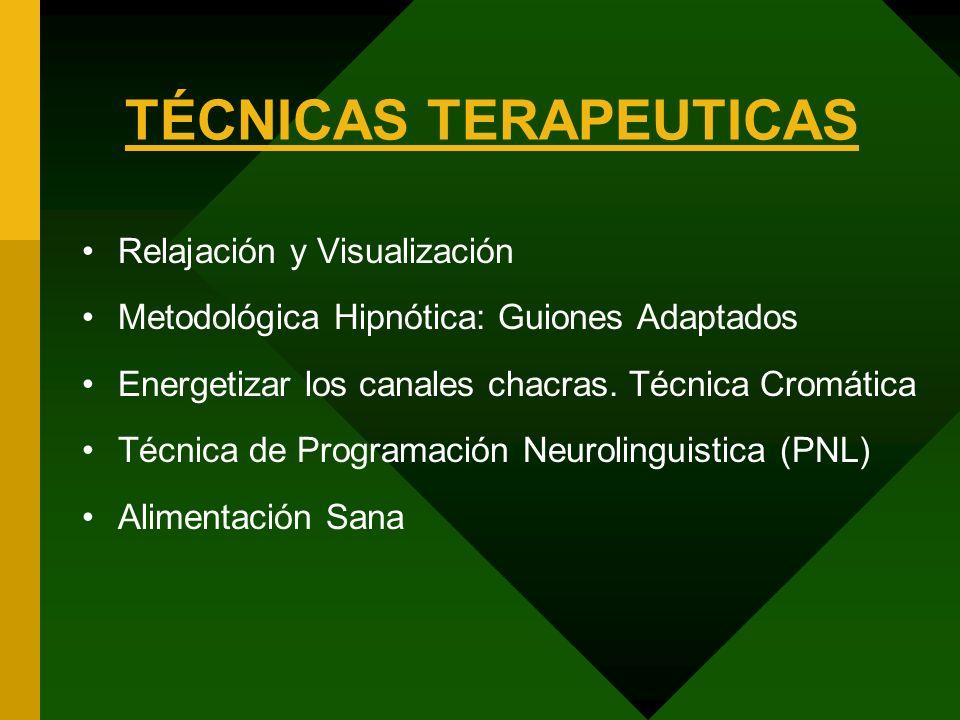 TÉCNICAS TERAPEUTICAS