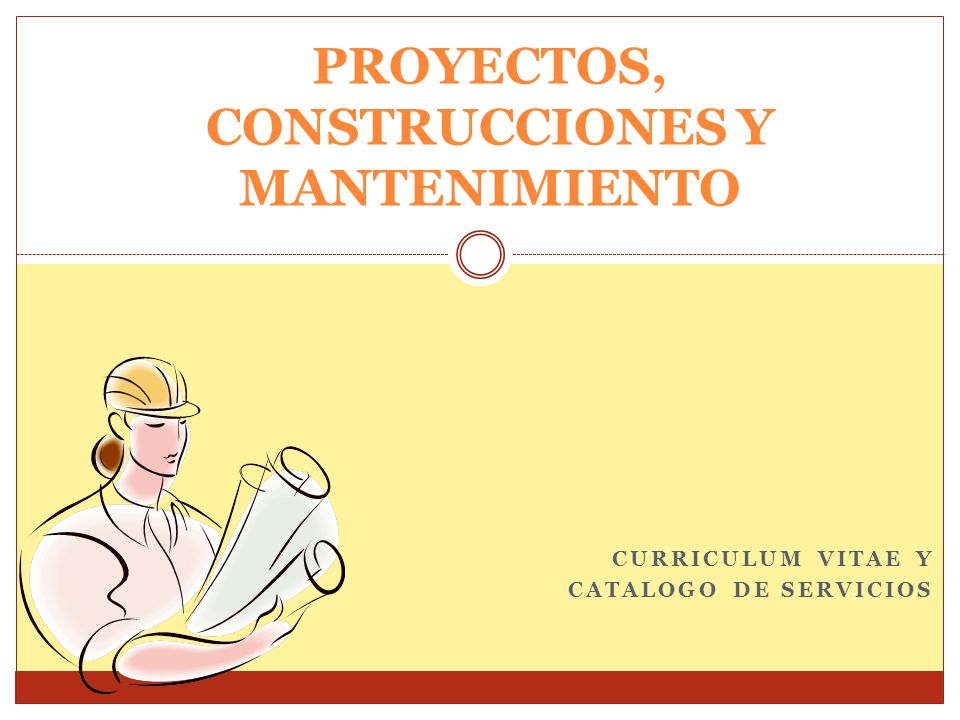 PROYECTOS, CONSTRUCCIONES Y MANTENIMIENTO
