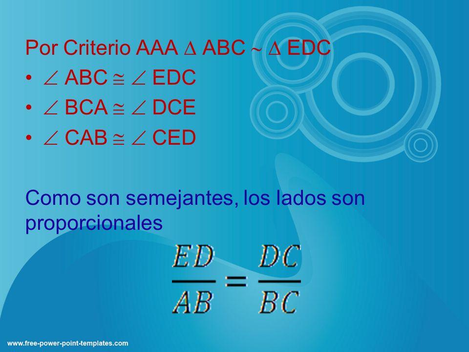 Por Criterio AAA  ABC   EDC