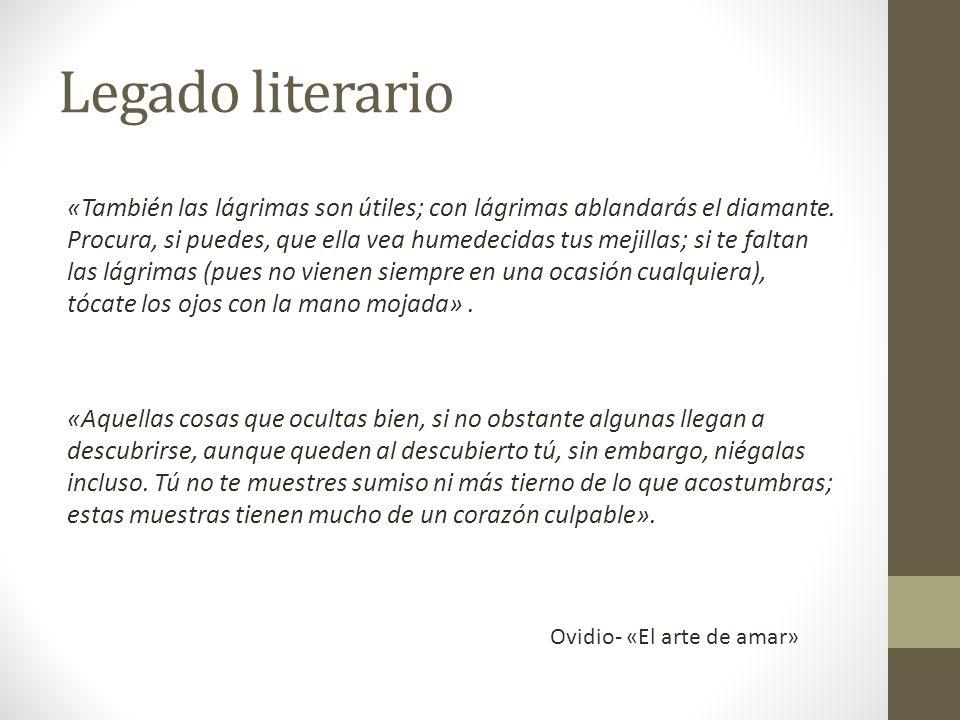 Legado literario