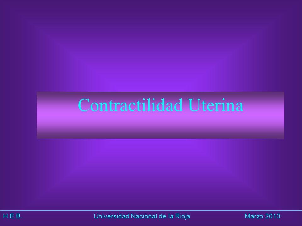 Contractilidad Uterina
