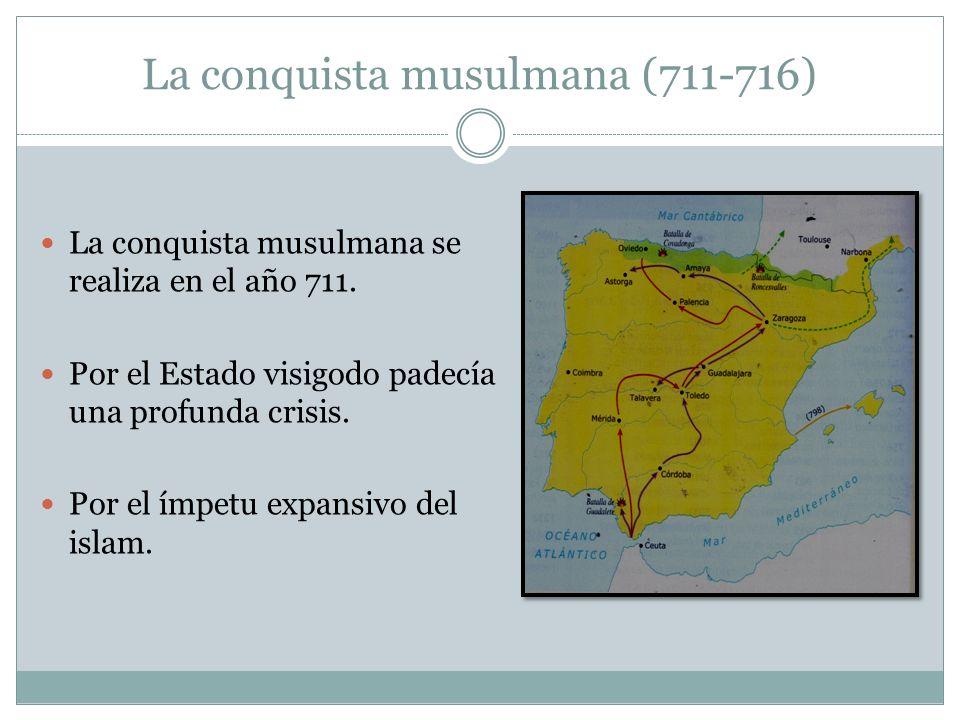 La conquista musulmana (711-716)