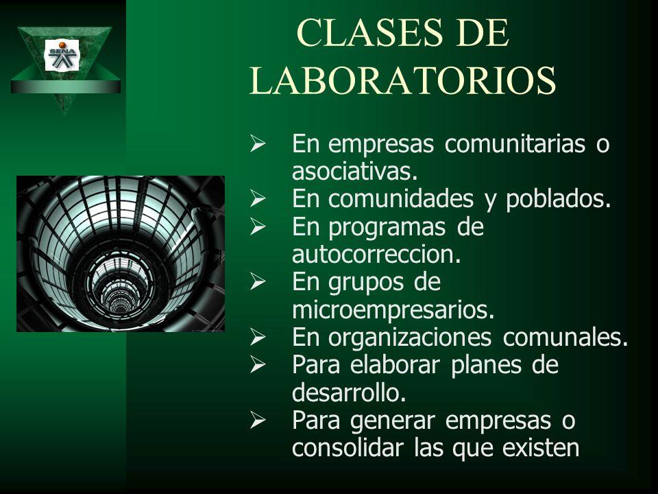 CLASES DE LABORATORIOS