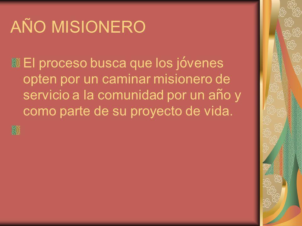 AÑO MISIONERO
