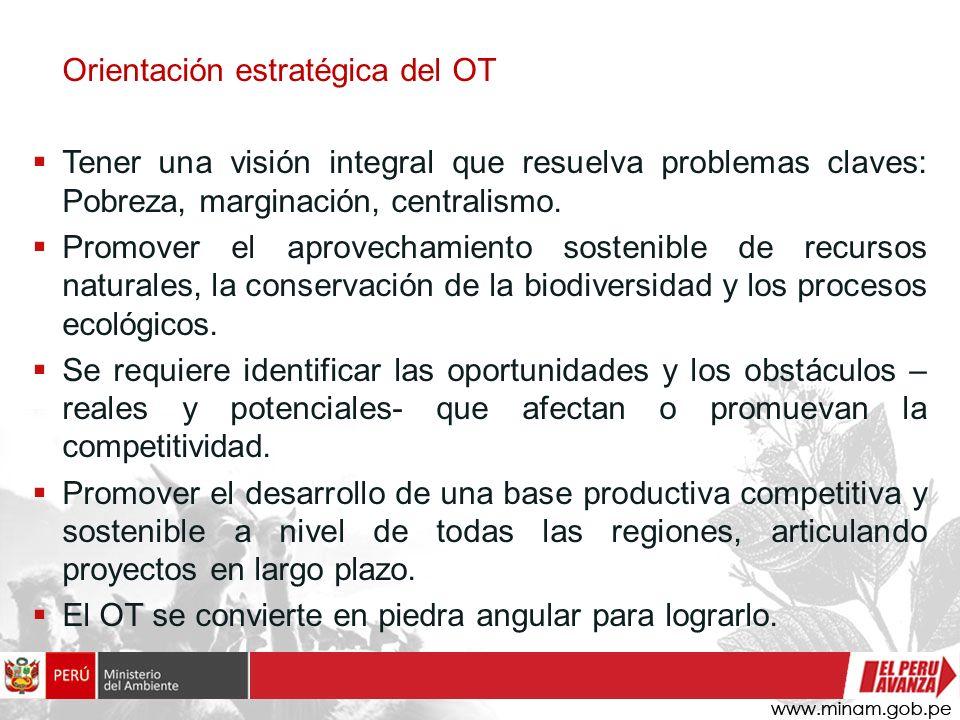Orientación estratégica del OT