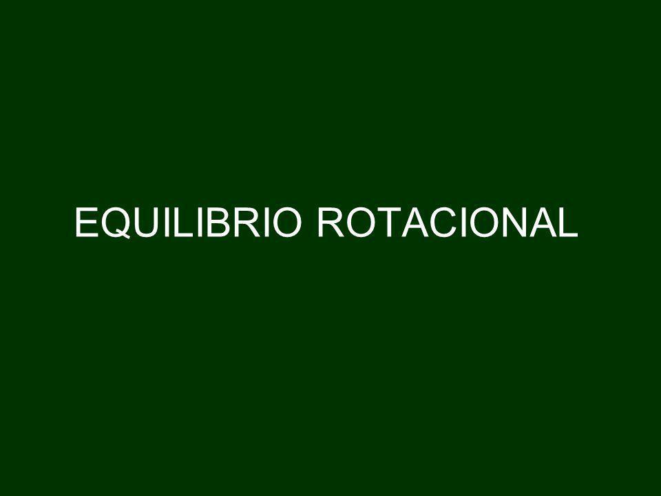 EQUILIBRIO ROTACIONAL