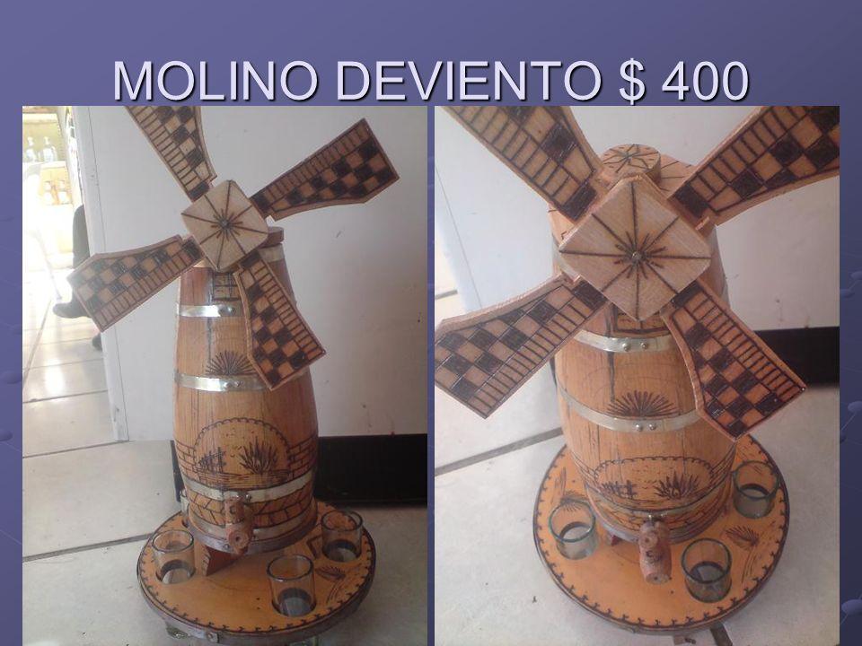 MOLINO DEVIENTO $ 400