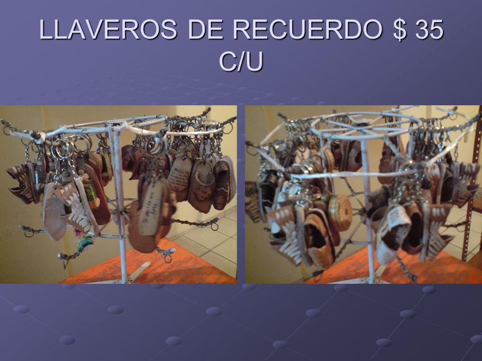 LLAVEROS DE RECUERDO $ 35 C/U