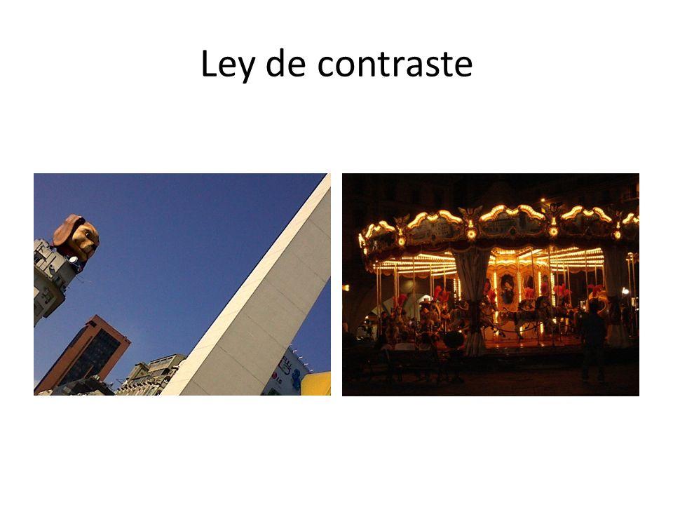 Ley de contraste