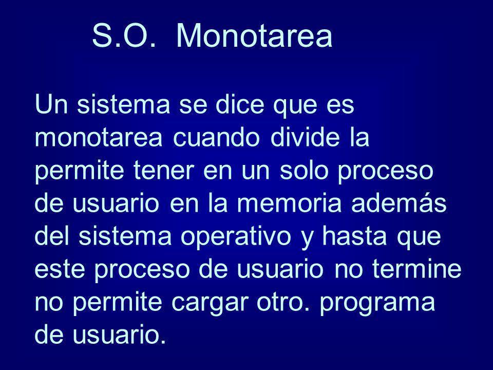 S.O. Monotarea