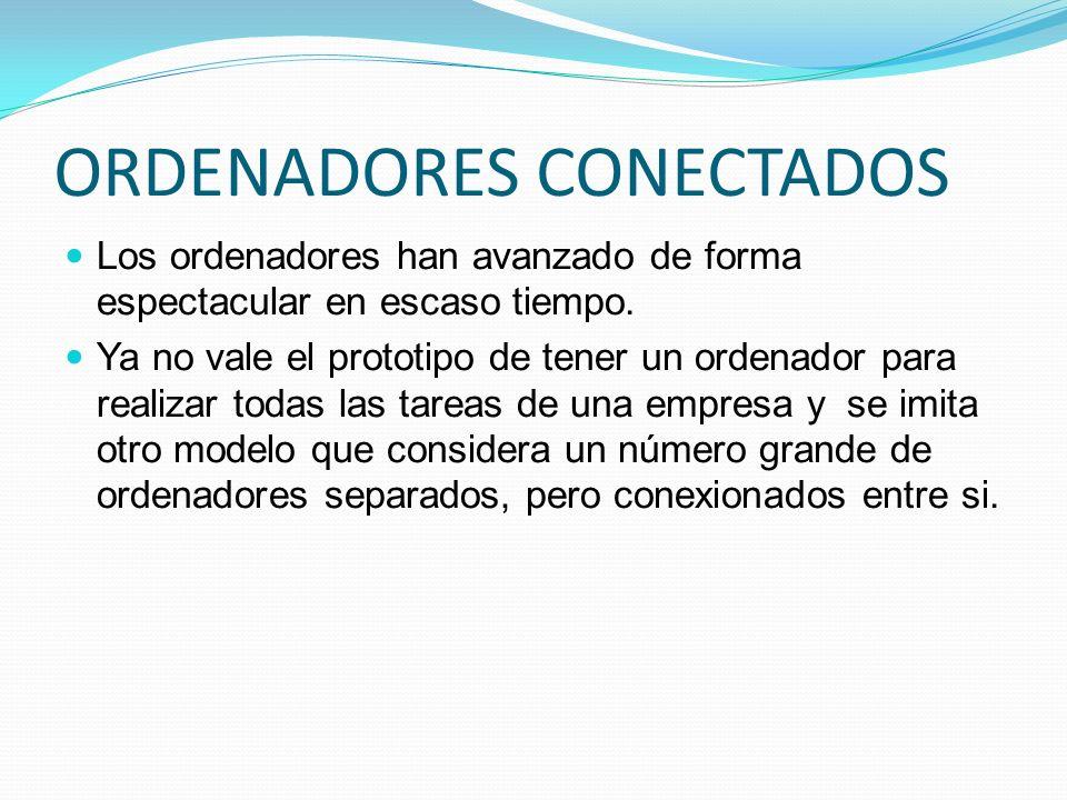ORDENADORES CONECTADOS