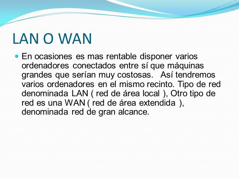 LAN O WAN