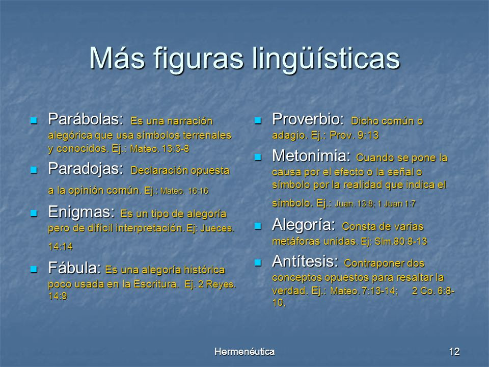 Más figuras lingüísticas
