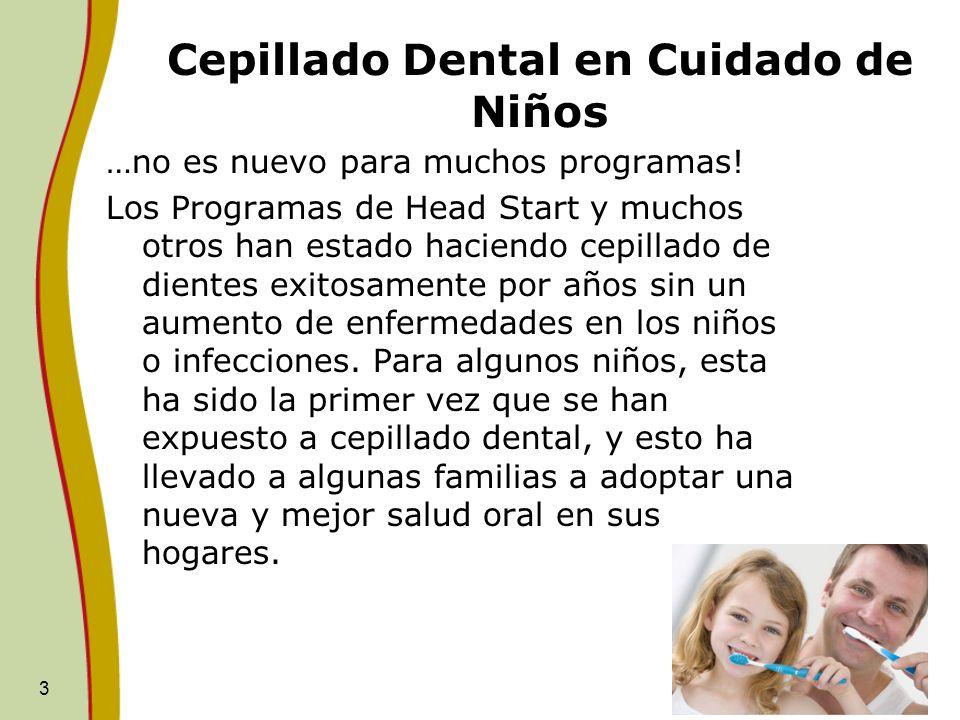 Cepillado Dental en Cuidado de Niños