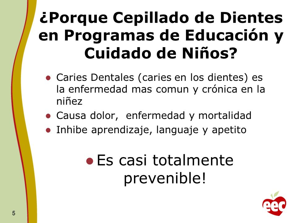 Es casi totalmente prevenible!