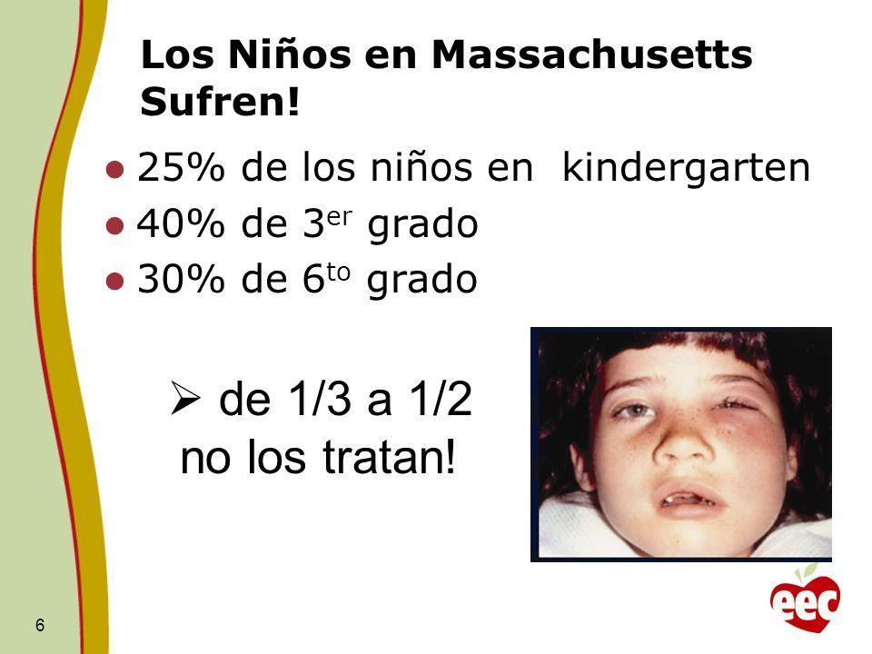 Los Niños en Massachusetts Sufren!