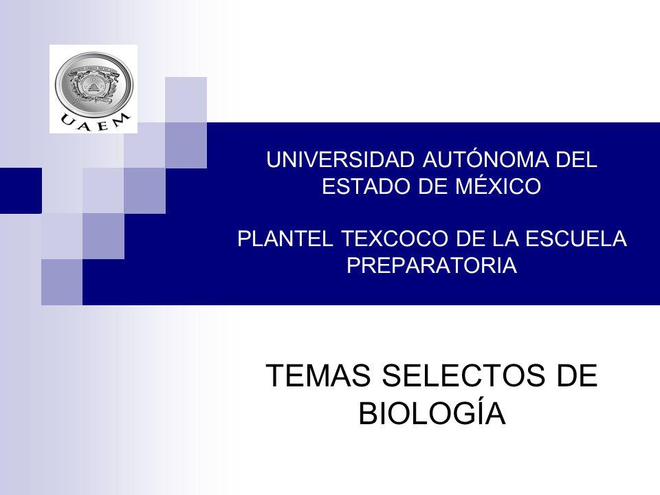 TEMAS SELECTOS DE BIOLOGÍA