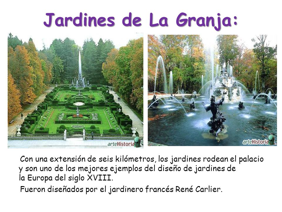 Jardines de La Granja: