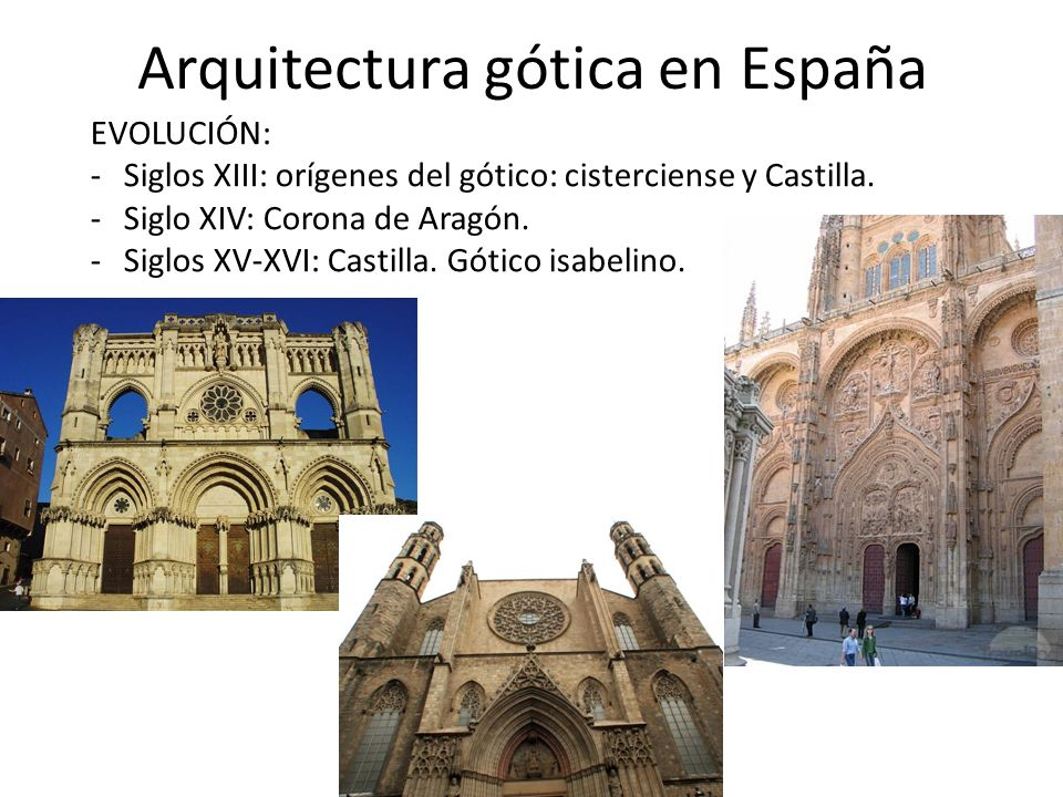 arquitectura g tica en espa a ppt video online descargar