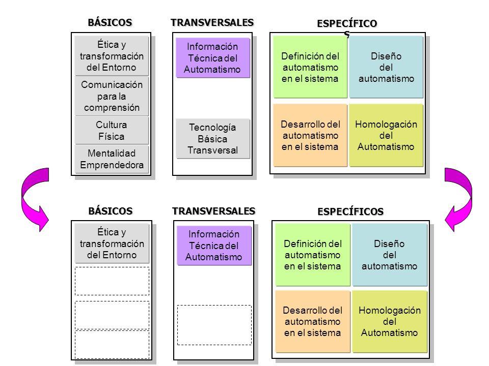 BÁSICOS TRANSVERSALES ESPECÍFICOS BÁSICOS TRANSVERSALES ESPECÍFICOS