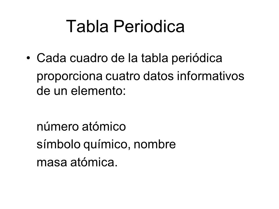 Tabla peridica y la estructura de la materia profesora gilda daz 11 tabla periodica urtaz Images