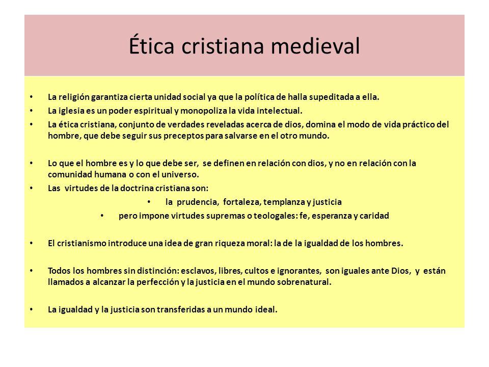 Ética cristiana medieval