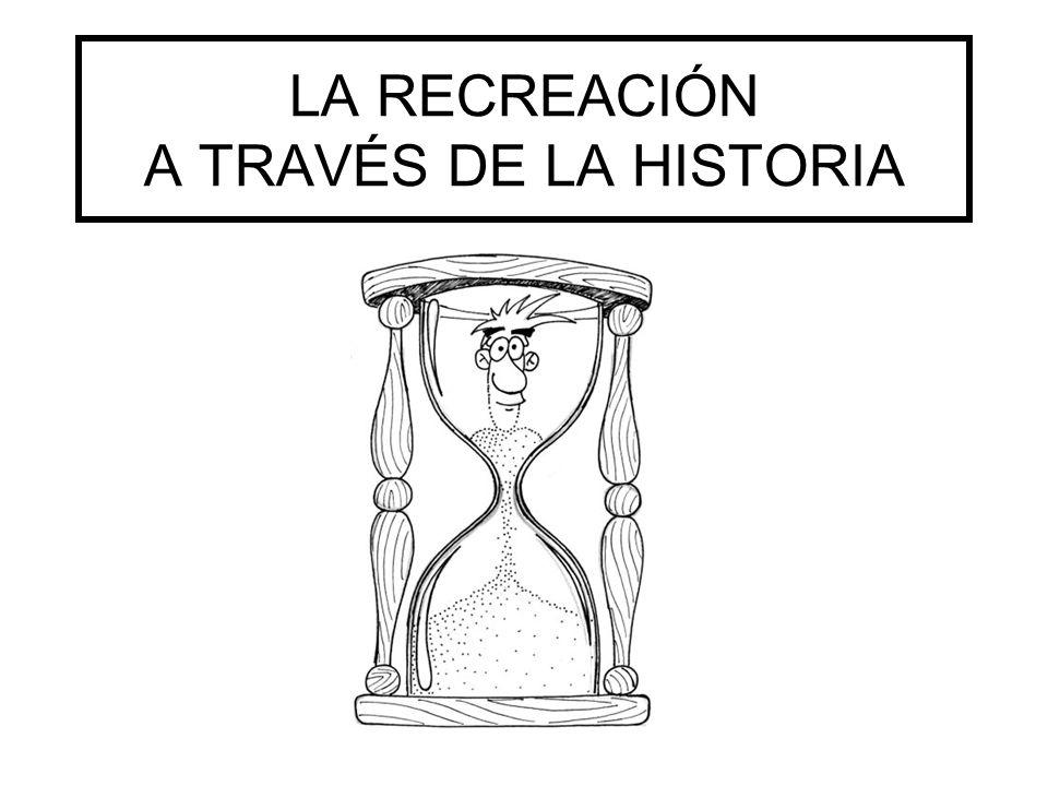 LA RECREACIÓN A TRAVÉS DE LA HISTORIA