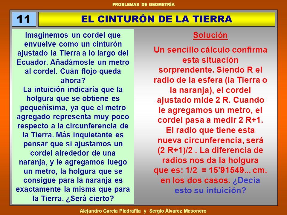 EL CINTURÓN DE LA TIERRA