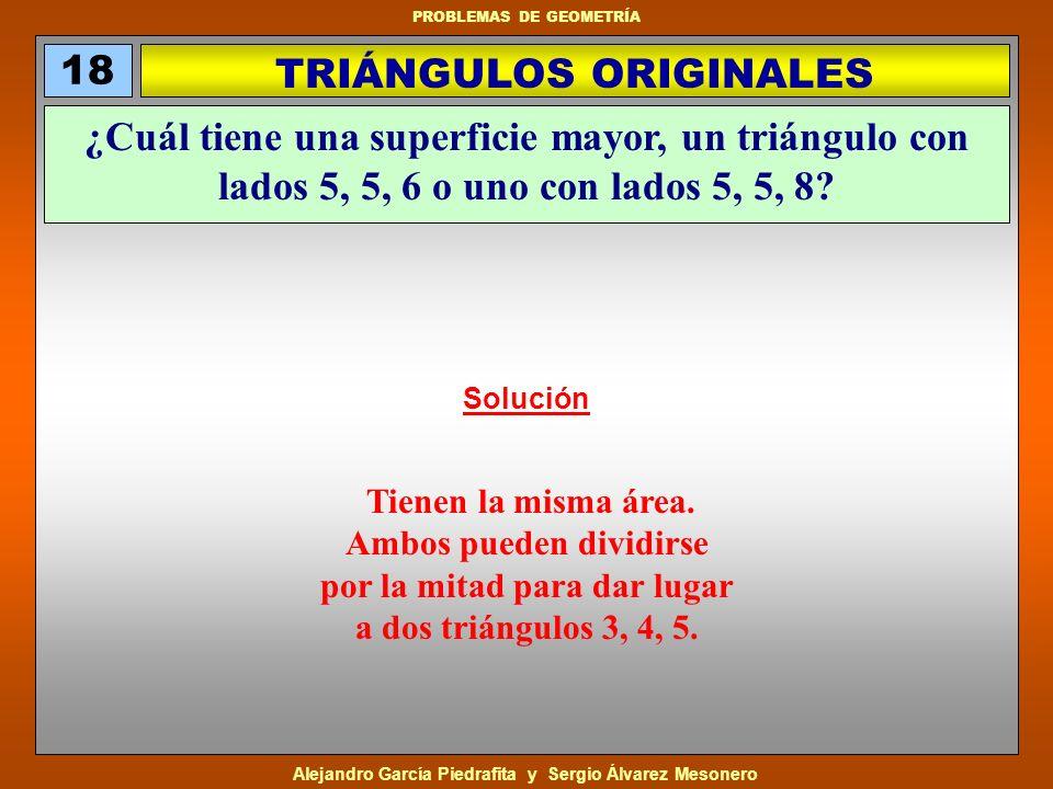 TRIÁNGULOS ORIGINALES