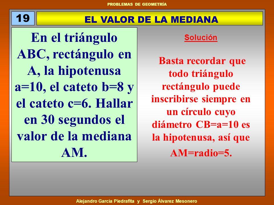 19 EL VALOR DE LA MEDIANA.