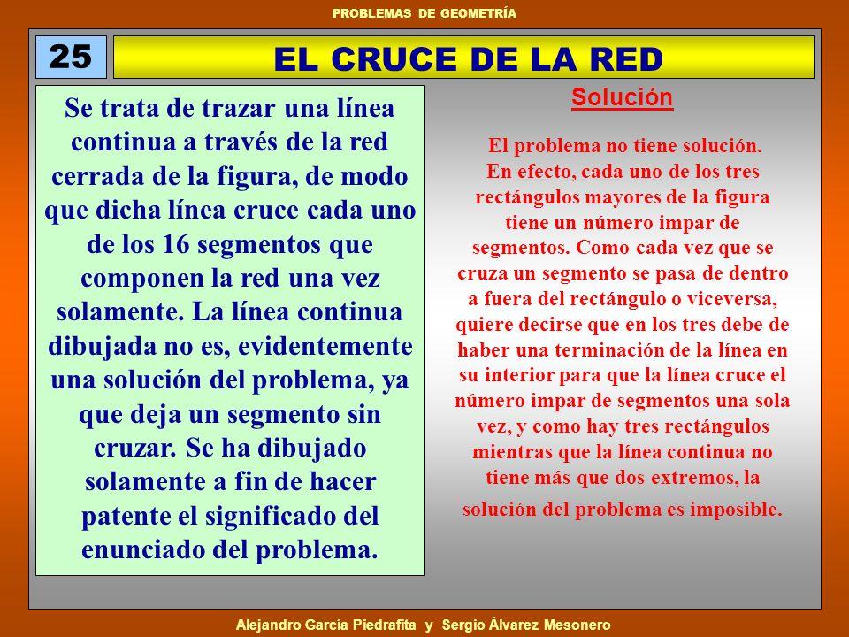 25EL CRUCE DE LA RED. Solución.