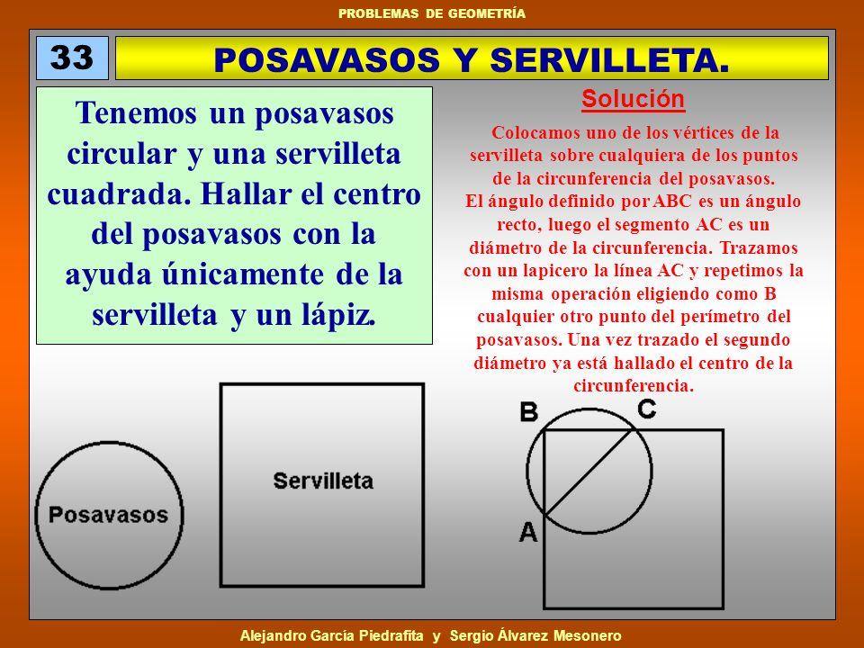 POSAVASOS Y SERVILLETA.