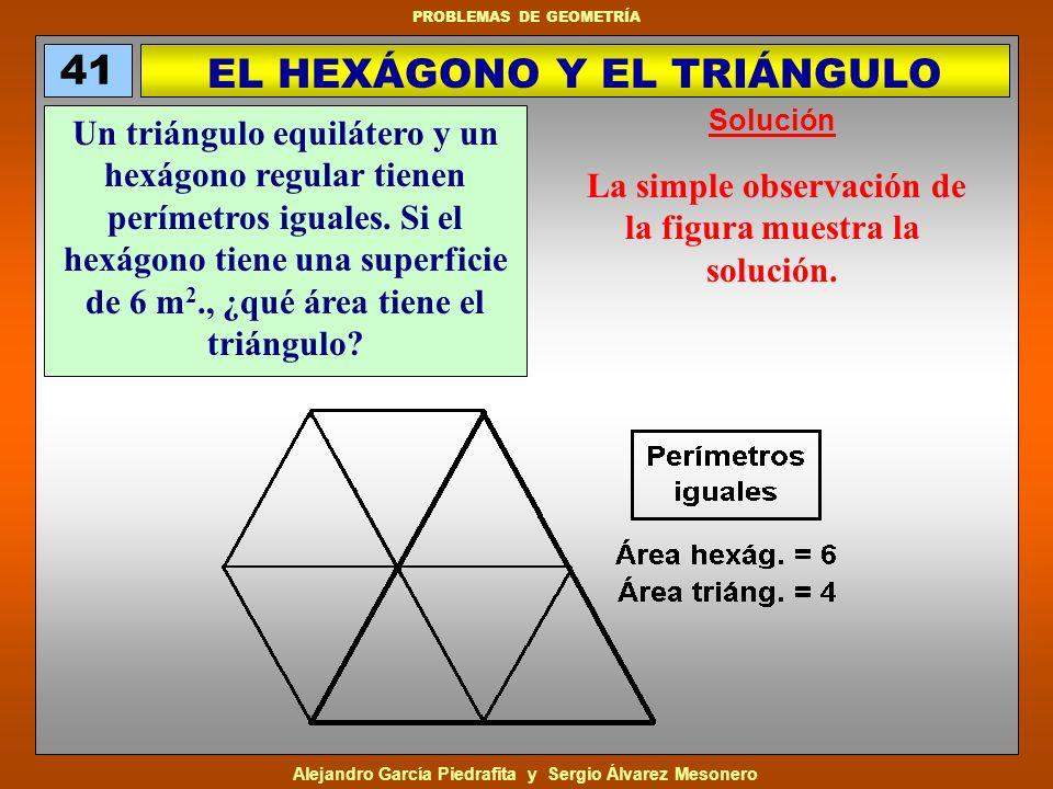 EL HEXÁGONO Y EL TRIÁNGULO