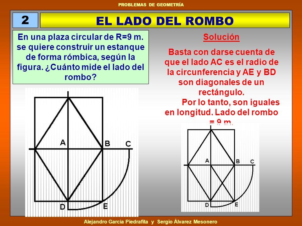 2 EL LADO DEL ROMBO.