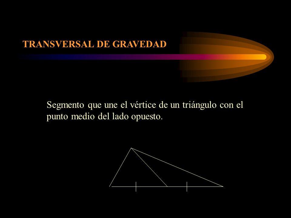 TRANSVERSAL DE GRAVEDAD