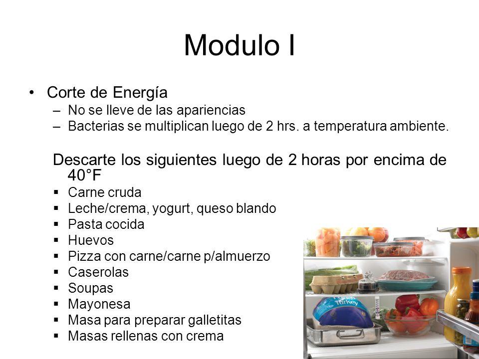 Modulo I Corte de Energía