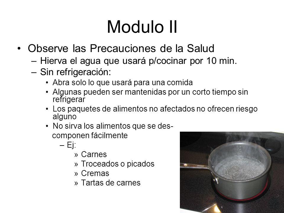 Modulo II Observe las Precauciones de la Salud