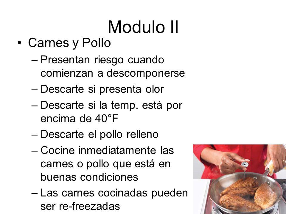 Modulo II Carnes y Pollo
