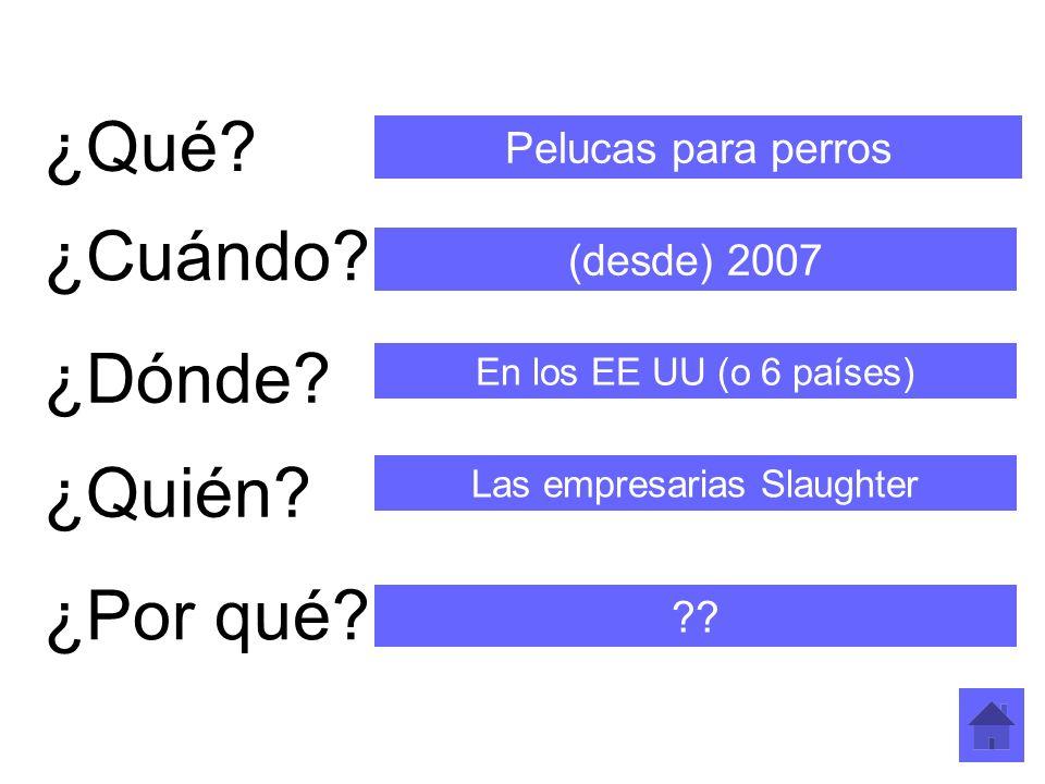Las empresarias Slaughter