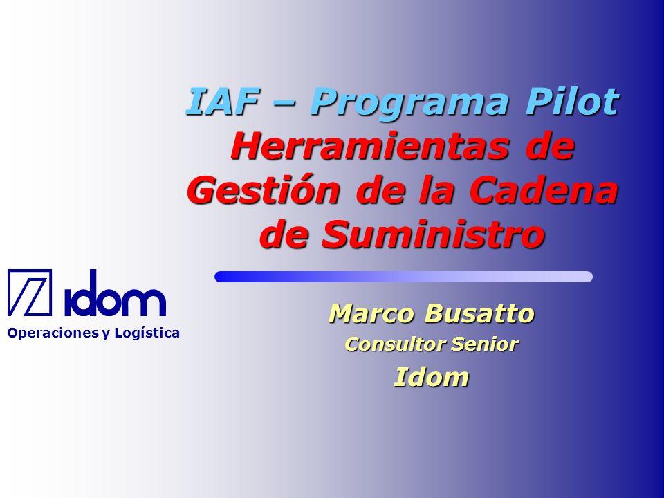Marco Busatto Consultor Senior Idom