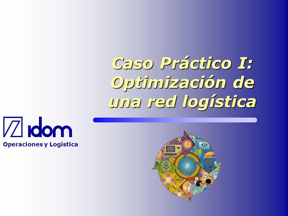 Caso Práctico I: Optimización de una red logística