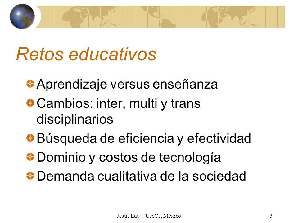 Retos educativos Aprendizaje versus enseñanza