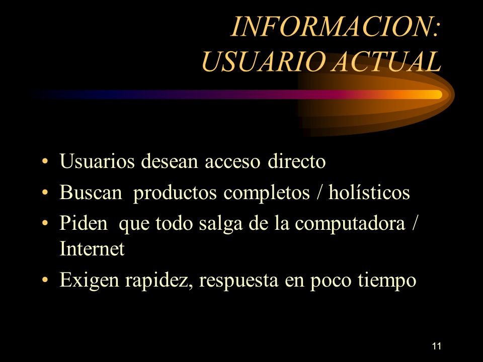 INFORMACION: USUARIO ACTUAL