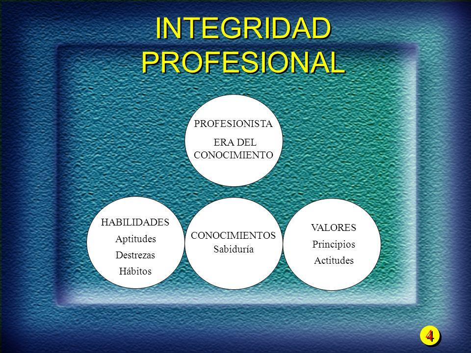 INTEGRIDAD PROFESIONAL