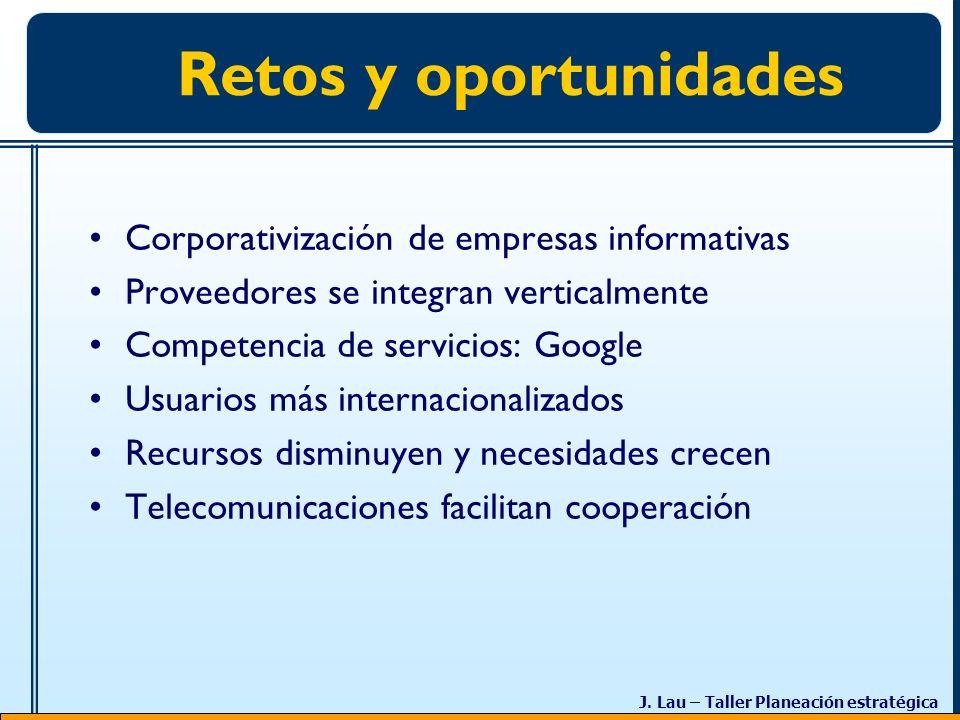 Retos y oportunidades Corporativización de empresas informativas